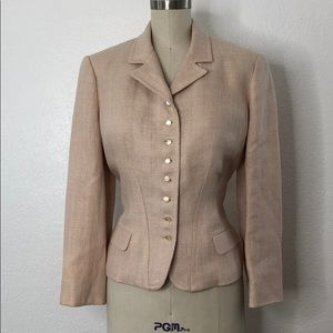 Ralph Lauren Light Pink Linen blazer 12